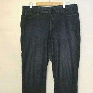 NYDJ Lift Tuck Straight Jeans 16 B491